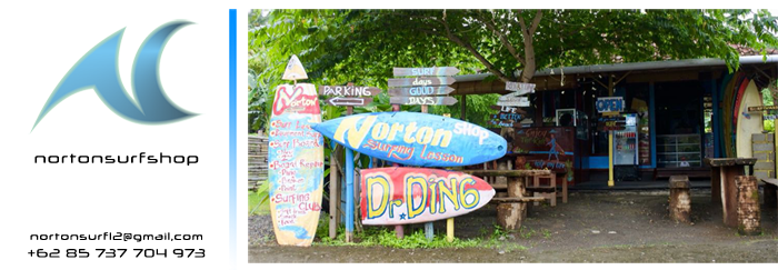 norton surf shop senggigi